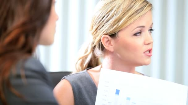 Ambitious female managing trading partners
