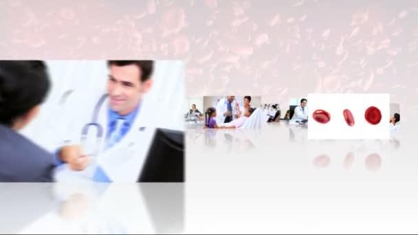 sestřih 3d obrazy zdravotníků