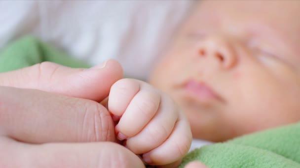 holding Neugeborene Eltern-Hände