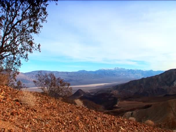 Landscape features of Death Valley