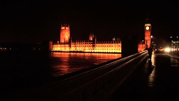 London Panorama v noci