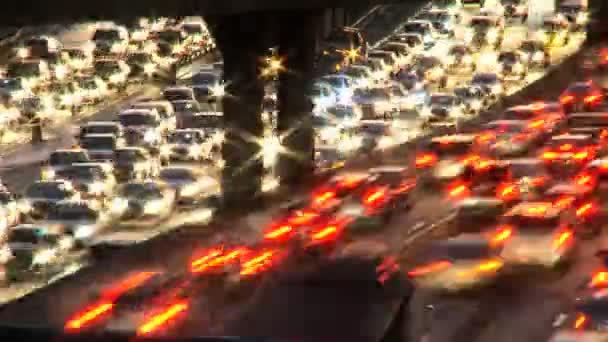 Dopravní znečištění time-lapse