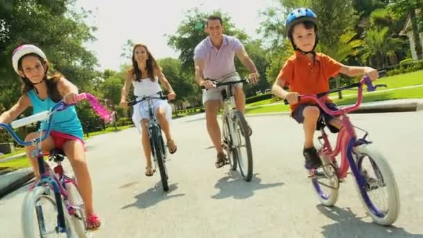 Rodinná cyklistika fitness