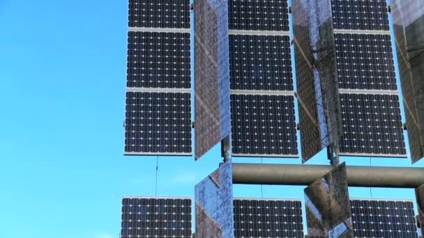 Close-up fotovoltaické solární panely