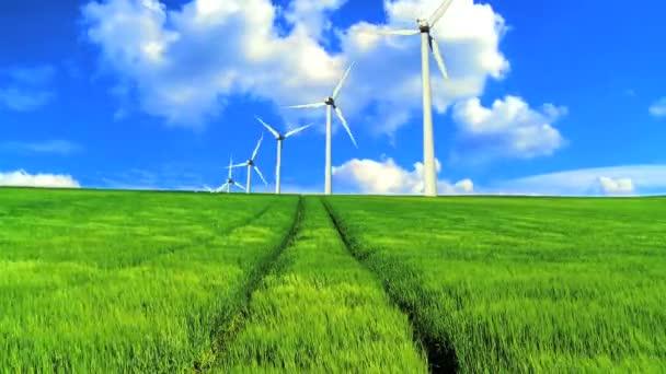 Větrná farma budoucí energie
