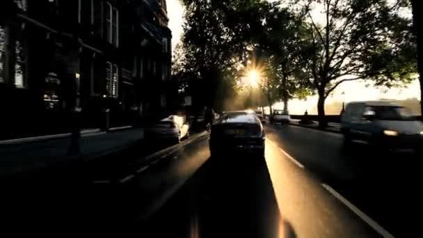 ranní dojíždějících z pohledu...