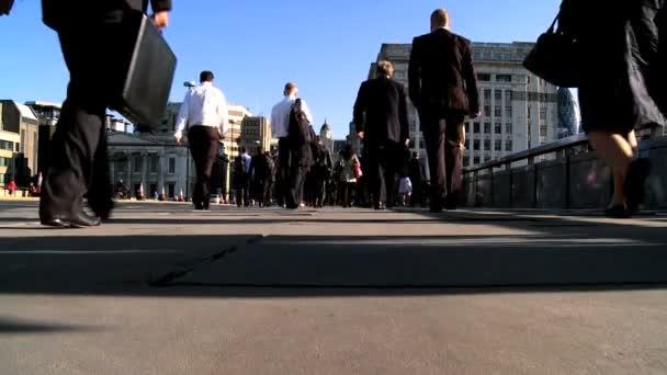 City Commuters Slow Motion