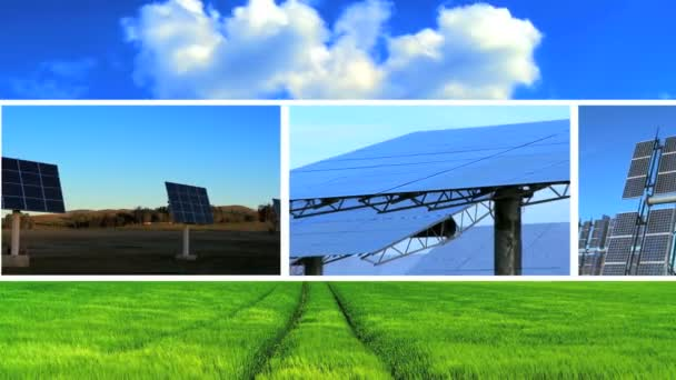 sestřih čisté solární energie