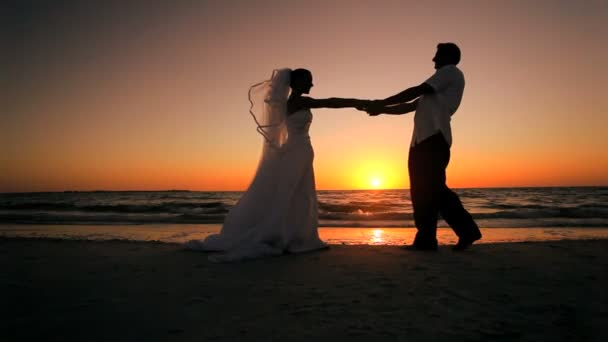 Álomesküvő naplemente