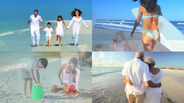 Montage of Healthy Vacation Activities  Fun