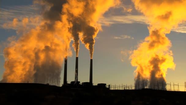 Desert Sunrise Smoke Pollution
