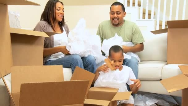 afroamerické rodinný dům krok