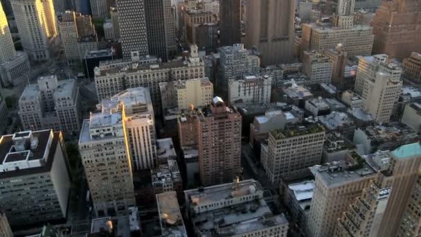 Aerial view of Midtown Manhattan, New York City, America, USA