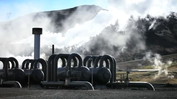 Steam From Geothermal Power Plant
