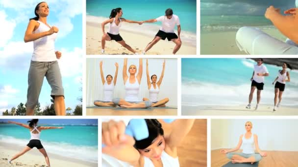 Montage of Luxury Health  Fitness Lifestyles