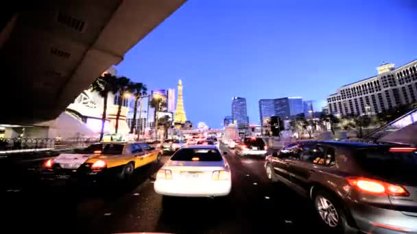 Timelapse Point of View Drivng in Las Vegas