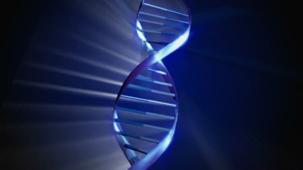 3D CG Magnification of DNA Spiral