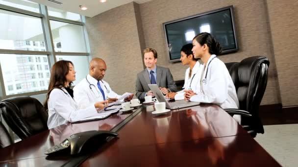 lékařské výkonné zasedací místnosti setkání