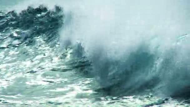 zblízka aqua oceánu vlny