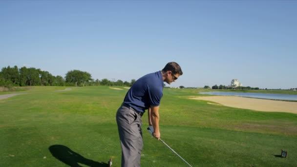 profesionální golfista kuličky