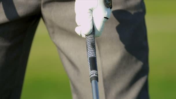 richtigen Weg halten Golf club