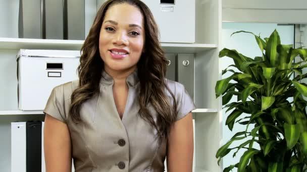 ženské finanční manažer tvorby prezentace