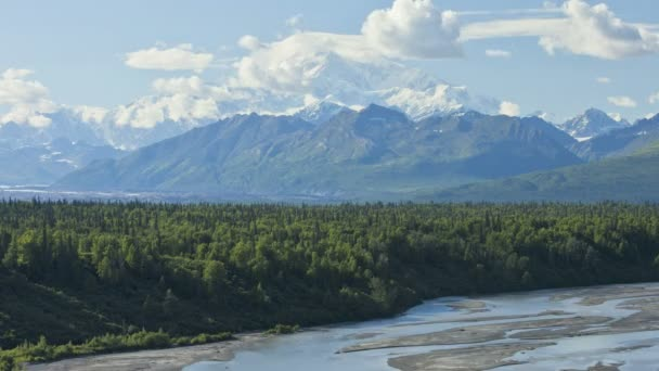 Mt McKinley, Denali State Park, Alaska, USA, Time lapse