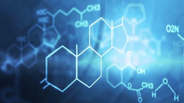 CG molekulární pohyb grafické chemická sloučenina vzorec