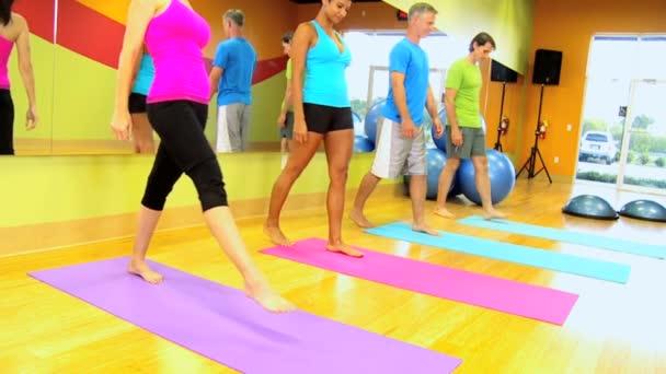 Fitness gruppen i hälsoklubben