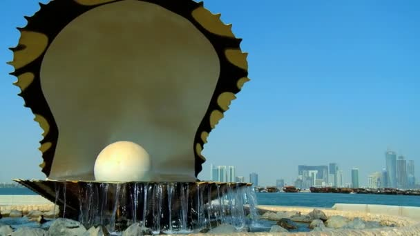 Pearl  oyster fountain