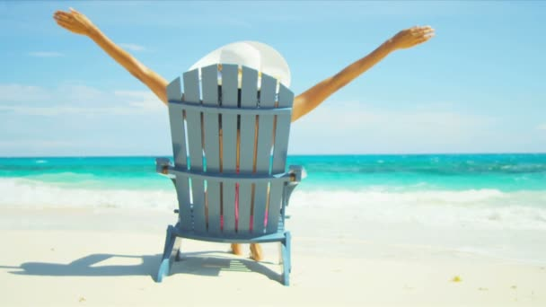 Beach Girl Loving Tropical Island Life