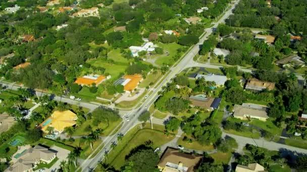 Letecký pohled na exkluzivní vlastnosti obytné nr Miami
