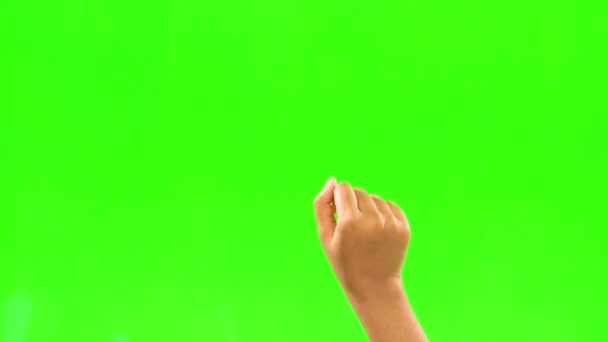 Hand Only Using Virtual Green Screen Technology