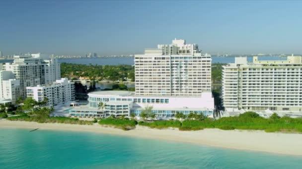 Veduta aerea sud Hotel di miami beach