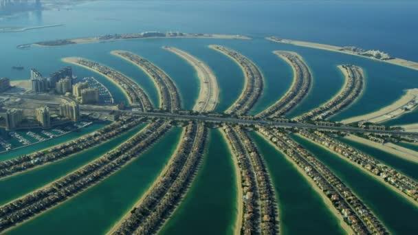 Letecký pohled na palm Jumeirah, Dubaj