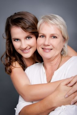 Stunning Mother and Young Daughter