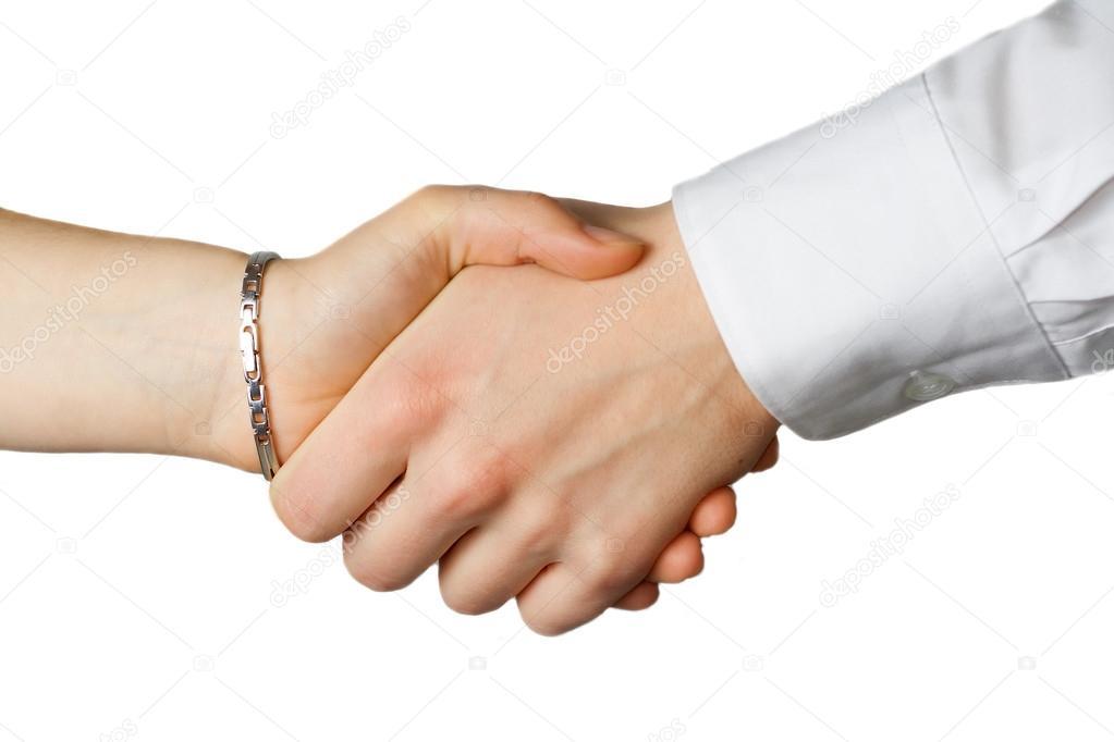 Ли руки пожимаю знакомстве женщины при
