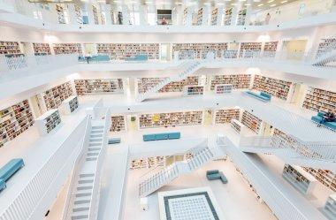 Stuttgart library interior