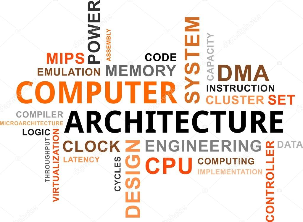 nuage de mot architecture des ordinateurs image