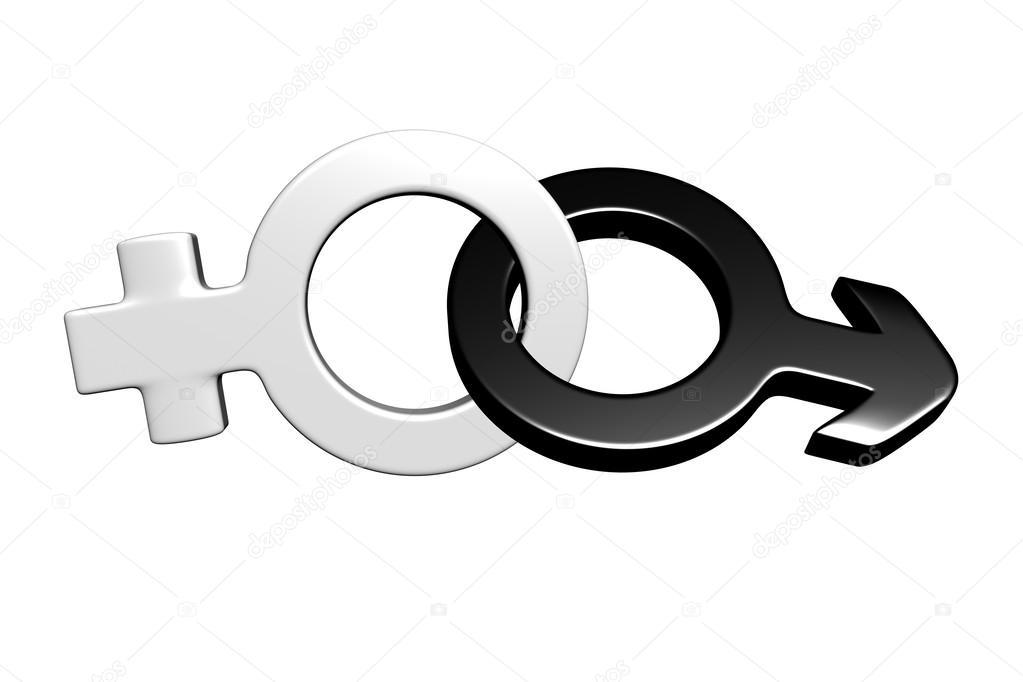 3d Male And Female Symbols Stock Photo Mandarin457 24769513