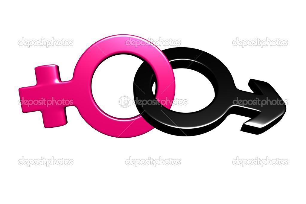 3d Male And Female Symbols Stock Photo Mandarin457 24769547