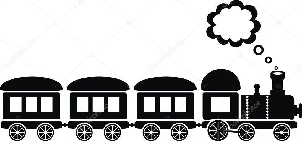 Black train
