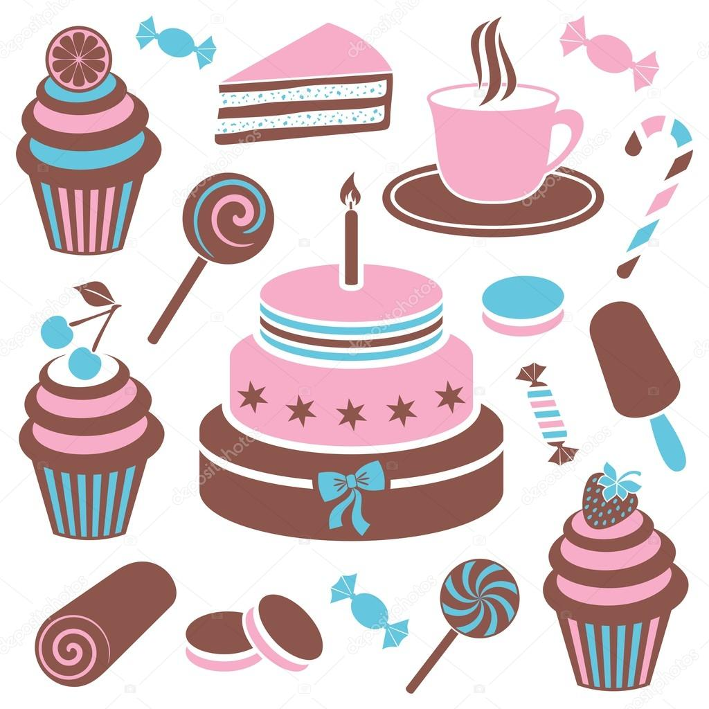 Desserts and sweets icon