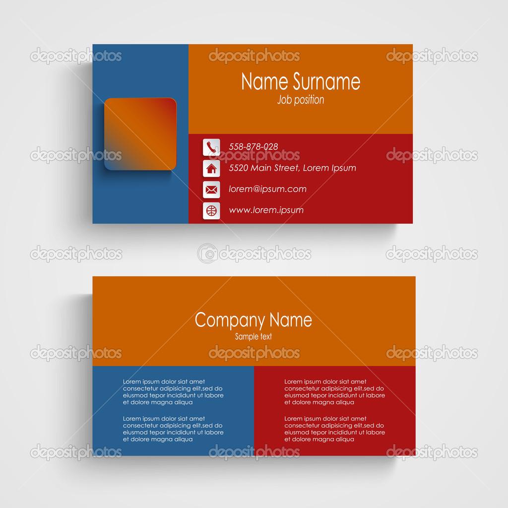 plantilla de tarjeta moderna — Vector de stock © Plisman #49836867