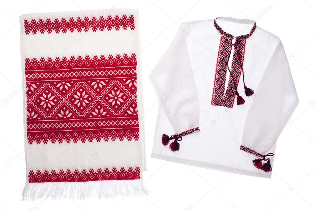 símbolo nacional ucraniano bordados hechos a mano toalla y camiseta ...