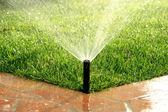 impianto di irrigazione automatica giardino irrigazione prato