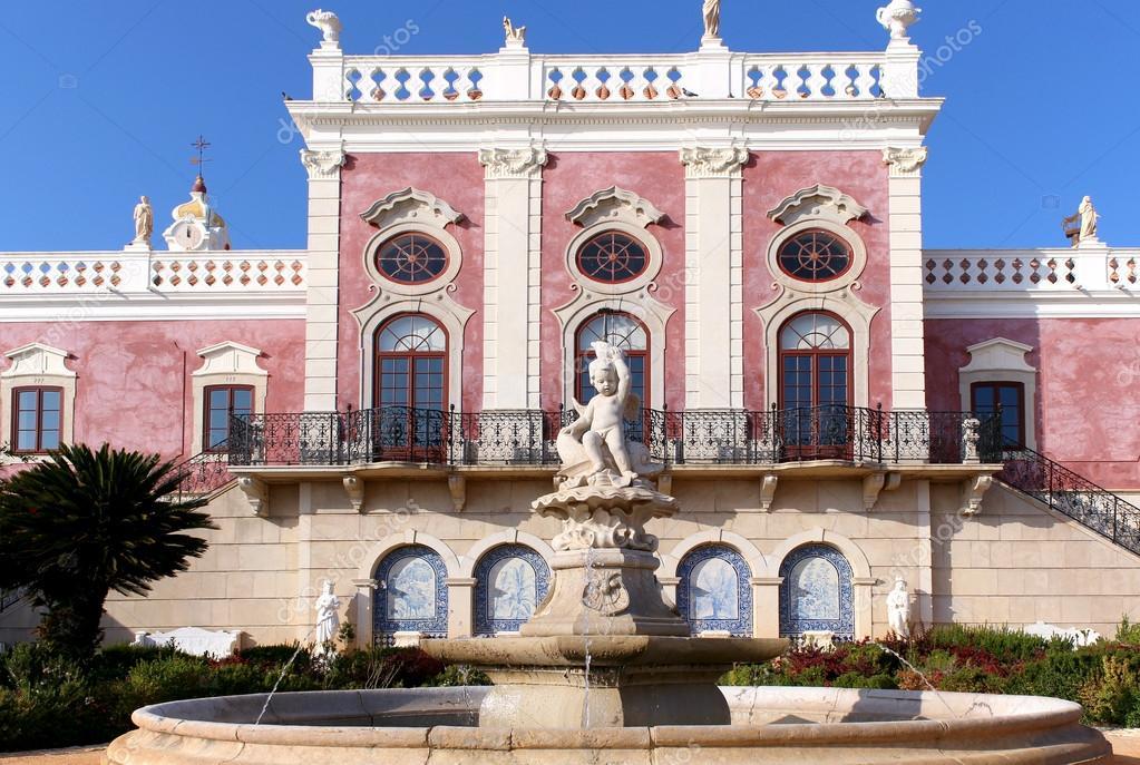 palais d 39 estoi fontaine une uvre d 39 architecture