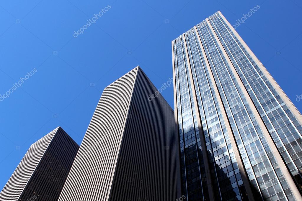 modern office buildings. Modern Office Buildings And Skyscraper Background \u2014 Stock Photo