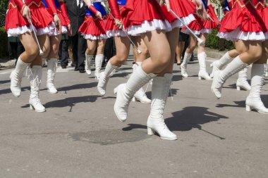 girl street parade
