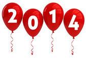 Fotografie rok 2013 červené balónky